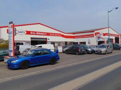 Garage Ets Brault à La Haye Pesnel - Réseau Cars Normandie