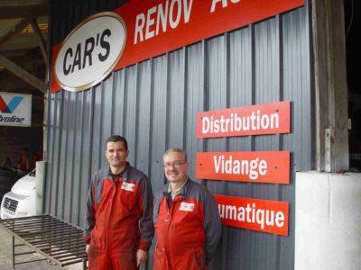 Garage Renov Auto à Vaux Sur Aure - Mécaniciens en Normandie
