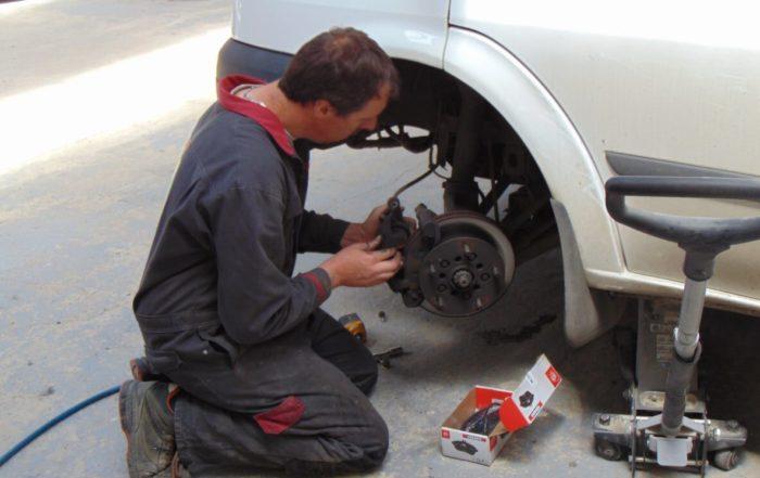 Changement du système de freinage - Garage Normandie